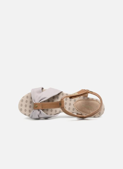 Sandals Mustang shoes Beibei Pink view from the left