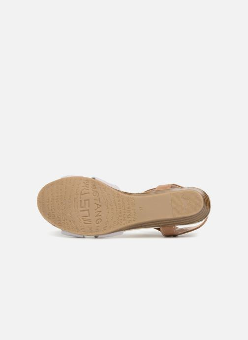 Sandales et nu-pieds Mustang shoes Beibei Rose vue haut