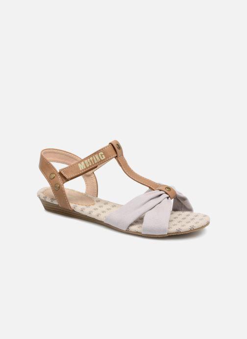 Sandales et nu-pieds Mustang shoes Beibei Rose vue détail/paire