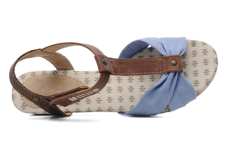 Sandales et nu-pieds Mustang shoes Beibei Bleu vue gauche