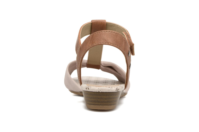 Sandales et nu-pieds Mustang shoes Beibei Beige vue droite