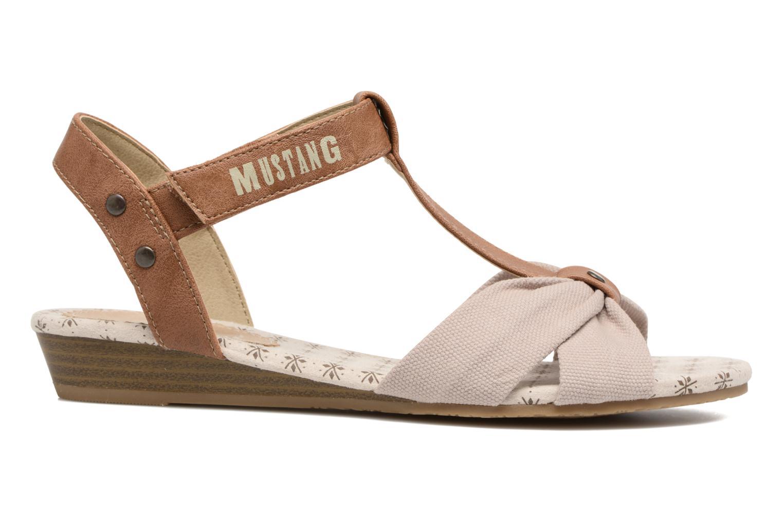Sandales et nu-pieds Mustang shoes Beibei Beige vue derrière