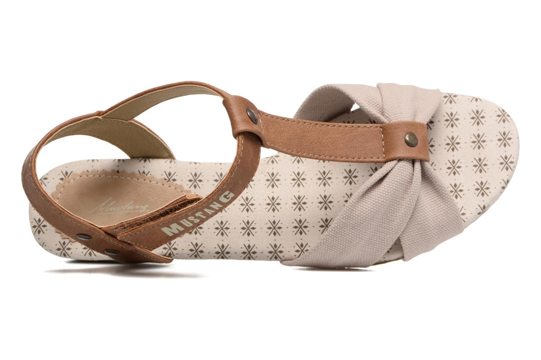 Sandales et nu-pieds Mustang shoes Beibei Beige vue gauche
