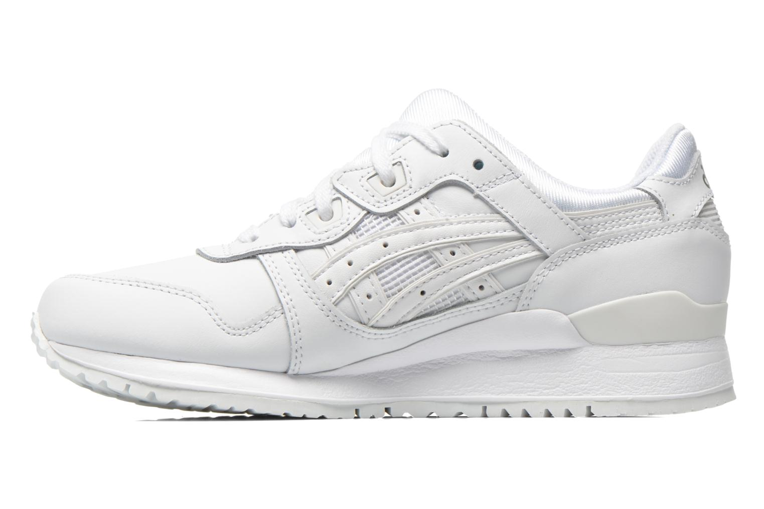 Baskets Asics Gel-Lyte III W Blanc vue face