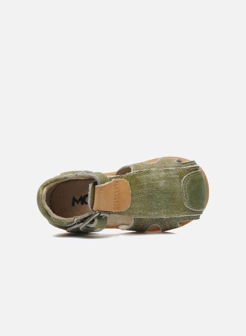 Sandales et nu-pieds Mod8 ALUCINE Vert vue gauche