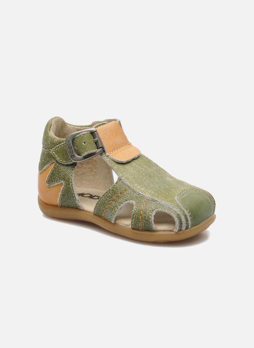 Sandales et nu-pieds Mod8 ALUCINE Vert vue détail/paire