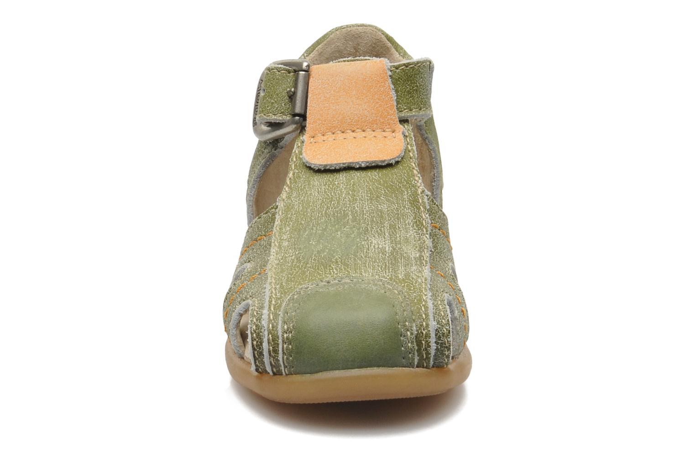 Sandales et nu-pieds Mod8 ALUCINE Vert vue portées chaussures