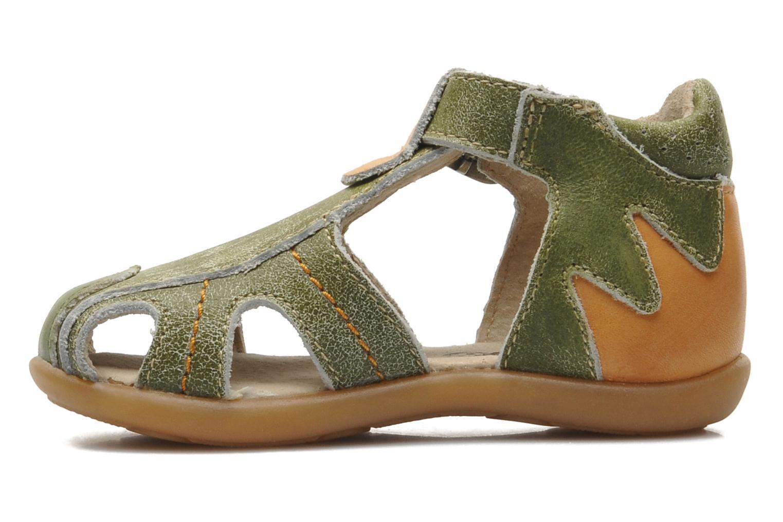Sandales et nu-pieds Mod8 ALUCINE Vert vue face