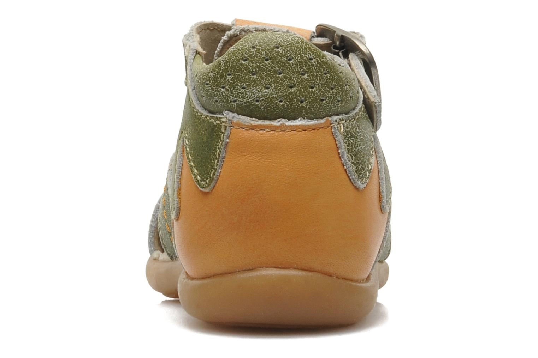 Sandalen Mod8 ALUCINE grün ansicht von rechts