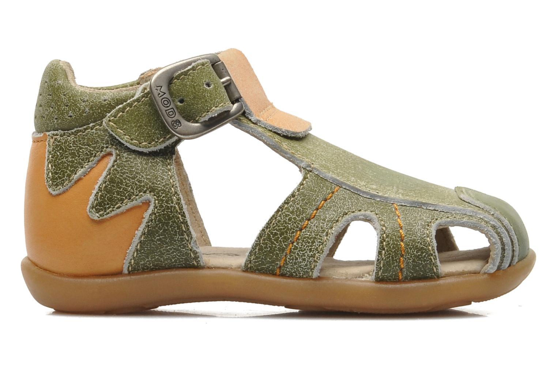 Sandalen Mod8 ALUCINE grün ansicht von hinten