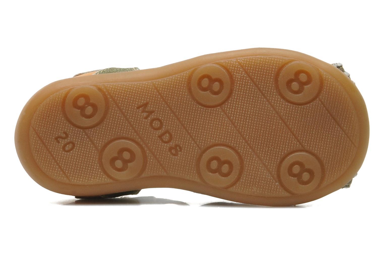 Sandales et nu-pieds Mod8 ALUCINE Vert vue haut