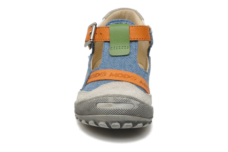 Bottines d'été Mod8 GABA Bleu vue portées chaussures