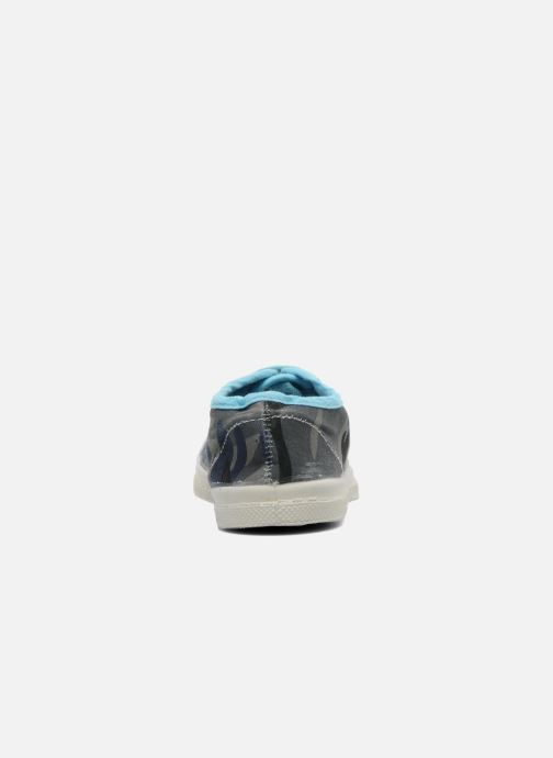 Trainers Bensimon Tennis Camouflage E Blue view from the right