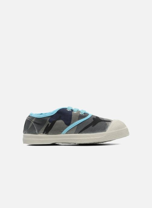 Trainers Bensimon Tennis Camouflage E Blue back view