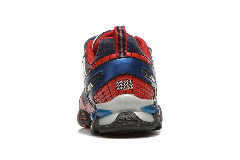 Sneakers Geox J LT ECLIPSE A Blauw rechts