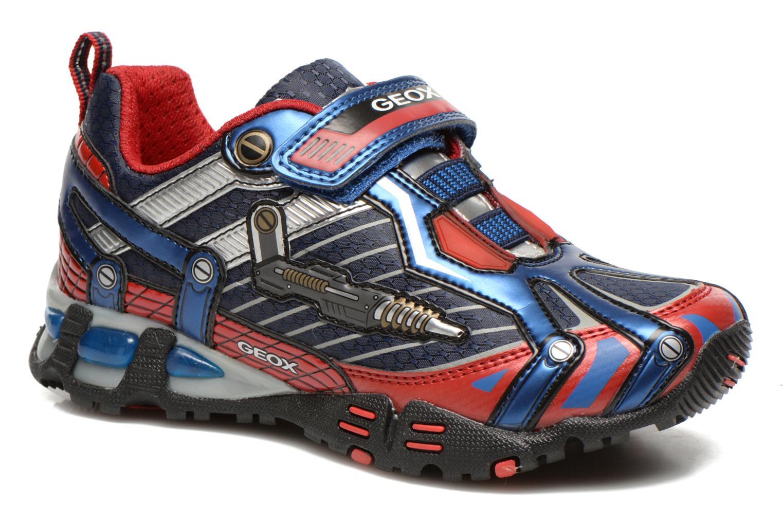 Sneakers Geox J LT ECLIPSE A Blauw detail