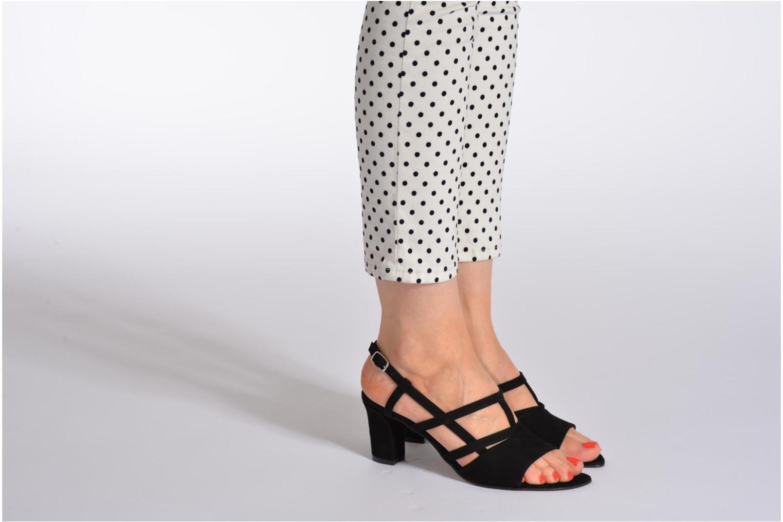 Sandales et nu-pieds Elizabeth Stuart Bamby 300 Beige vue bas / vue portée sac