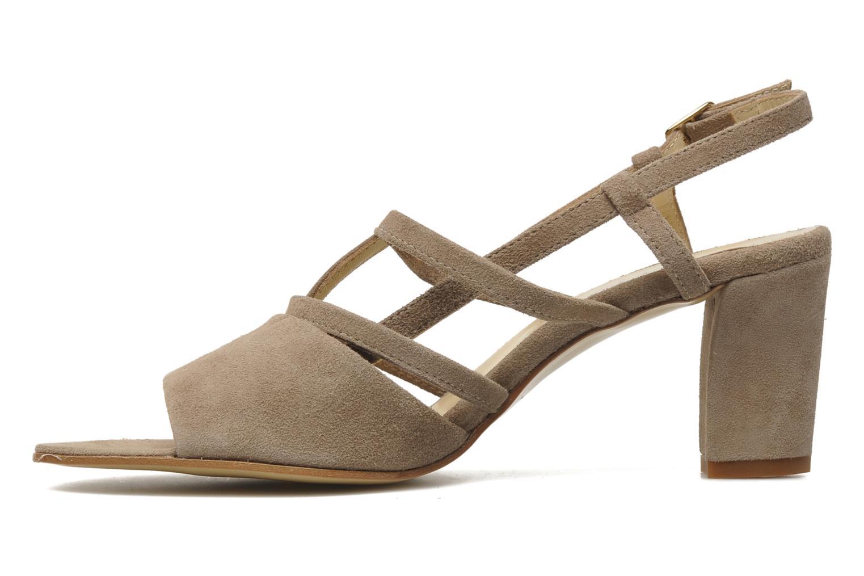 Sandales et nu-pieds Elizabeth Stuart Bamby 300 Beige vue face