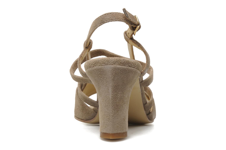Sandales et nu-pieds Elizabeth Stuart Bamby 300 Beige vue droite