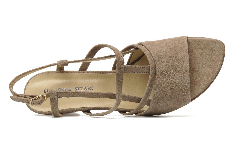 Sandales et nu-pieds Elizabeth Stuart Bamby 300 Beige vue gauche
