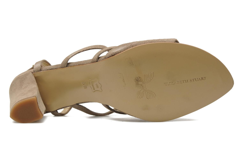 Sandales et nu-pieds Elizabeth Stuart Bamby 300 Beige vue haut