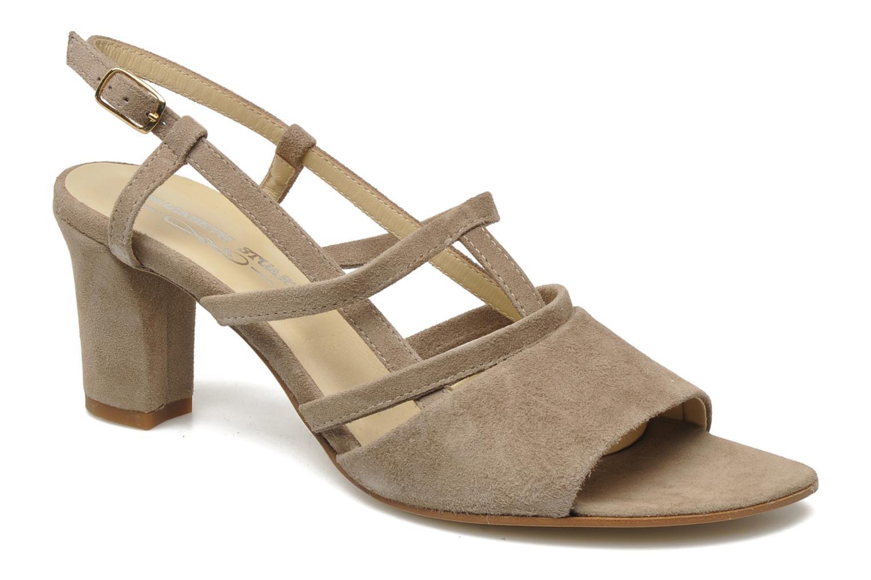 Sandales et nu-pieds Elizabeth Stuart Bamby 300 Beige vue détail/paire