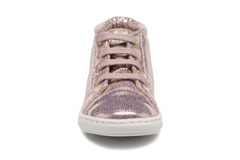 Bottines et boots Shoo Pom Bouba Pad Lace Rose vue portées chaussures