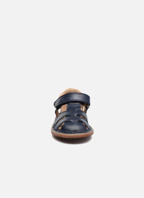 Sandali e scarpe aperte Shoo Pom Crespin Tonton Azzurro modello indossato