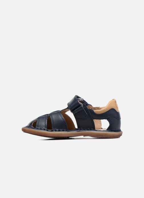 Sandales et nu-pieds Shoo Pom Crespin Tonton Bleu vue face