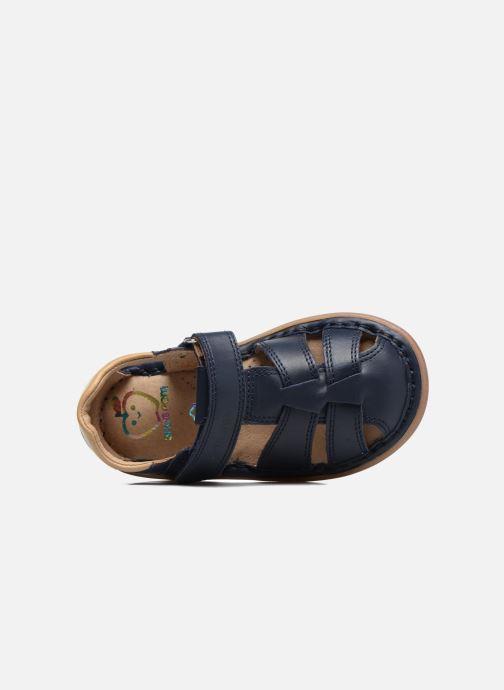 Sandali e scarpe aperte Shoo Pom Crespin Tonton Azzurro immagine sinistra