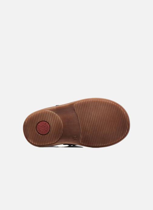 Sandales et nu-pieds Shoo Pom Crespin Tonton Bleu vue haut