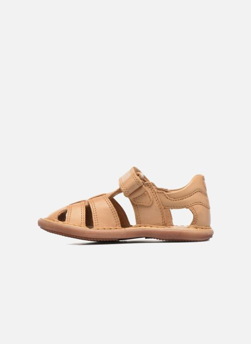 Sandales et nu-pieds Shoo Pom Crespin Tonton Marron vue face
