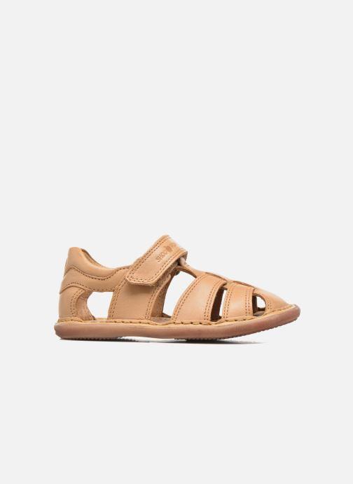Sandales et nu-pieds Shoo Pom Crespin Tonton Marron vue derrière