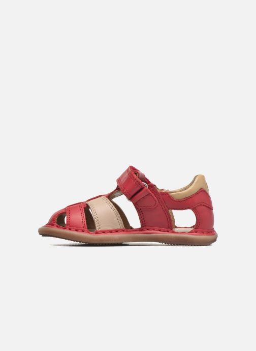 Sandales et nu-pieds Shoo Pom Crespin Tonton Rouge vue face
