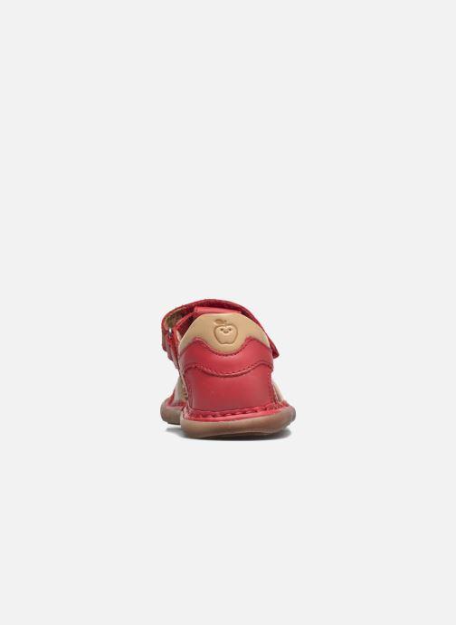 Sandales et nu-pieds Shoo Pom Crespin Tonton Rouge vue droite