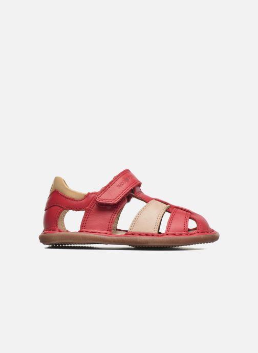 Sandales et nu-pieds Shoo Pom Crespin Tonton Rouge vue derrière
