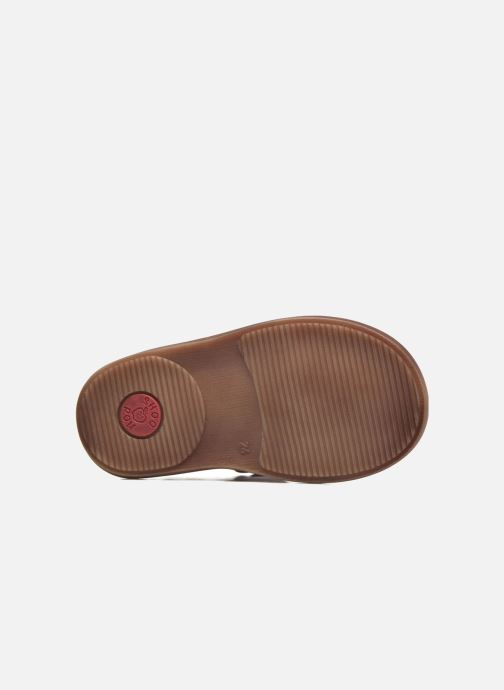 Sandales et nu-pieds Shoo Pom Crespin Tonton Rouge vue haut