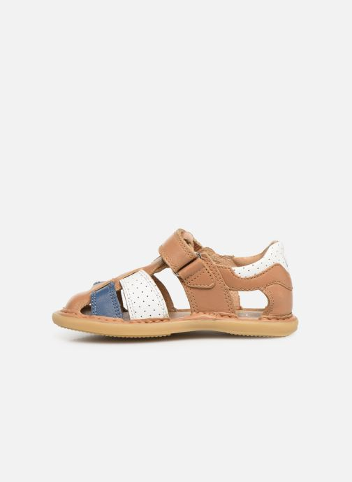 Sandales et nu-pieds Shoo Pom Crespin Tonton Multicolore vue face