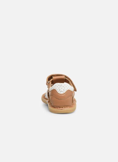 Sandales et nu-pieds Shoo Pom Crespin Tonton Multicolore vue droite