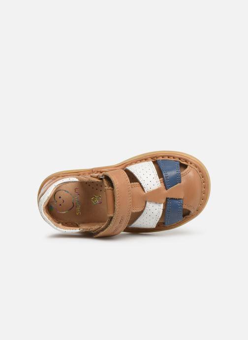 Sandales et nu-pieds Shoo Pom Crespin Tonton Multicolore vue gauche