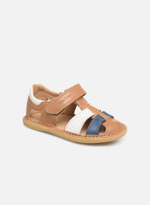 Sandales et nu-pieds Shoo Pom Crespin Tonton Multicolore vue détail/paire