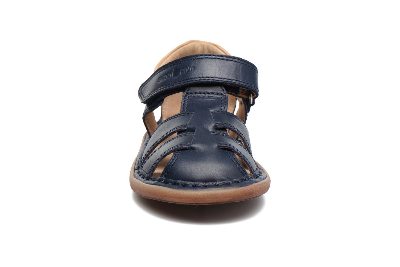 Sandales et nu-pieds Shoo Pom Crespin Tonton Bleu vue portées chaussures