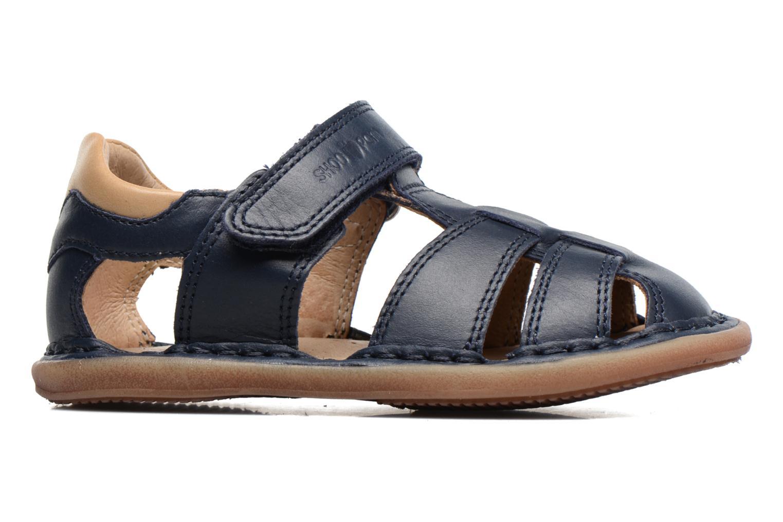 Sandales et nu-pieds Shoo Pom Crespin Tonton Bleu vue derrière