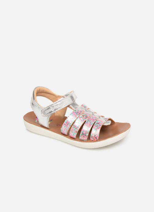 Sandals Shoo Pom Goa Spart Silver detailed view/ Pair view