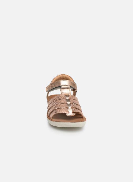 Sandales et nu-pieds Shoo Pom Goa Spart Argent vue portées chaussures