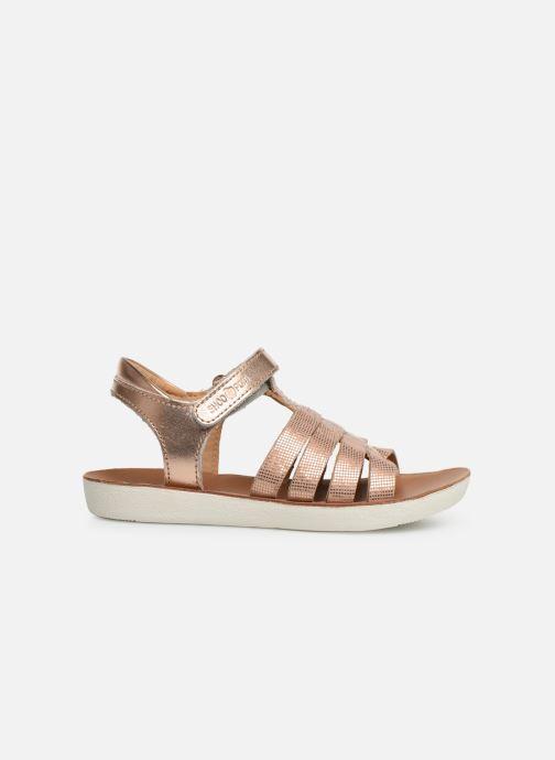 Sandales et nu-pieds Shoo Pom Goa Spart Argent vue derrière