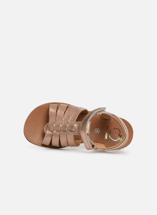 Sandales et nu-pieds Shoo Pom Goa Spart Argent vue gauche