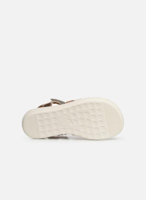 Sandales et nu-pieds Shoo Pom Goa Spart Argent vue haut