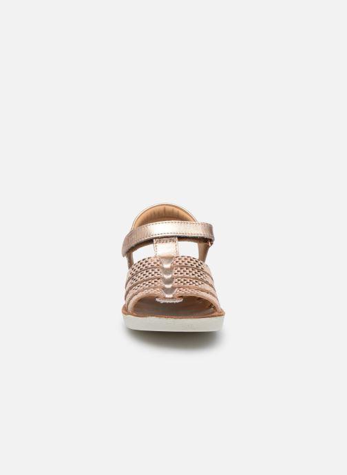 Sandales et nu-pieds Shoo Pom Goa Spart Rose vue portées chaussures