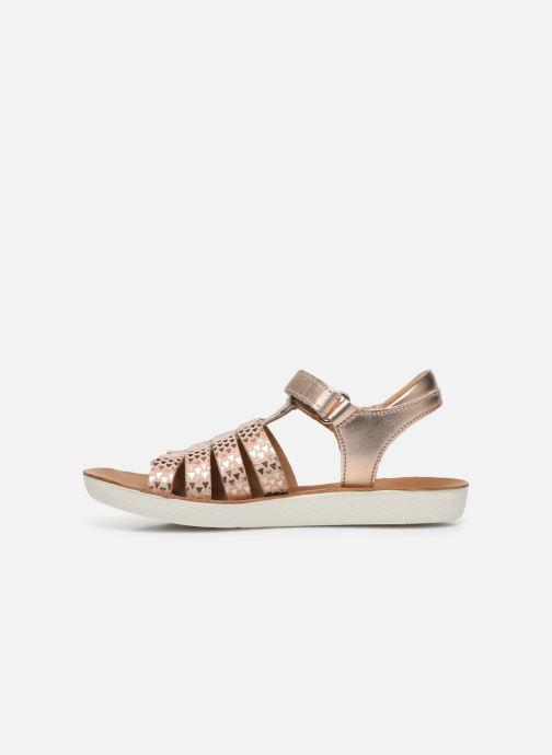 Sandales et nu-pieds Shoo Pom Goa Spart Rose vue face